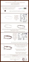 Tutorial :: Digital Lineart :: by Yivae