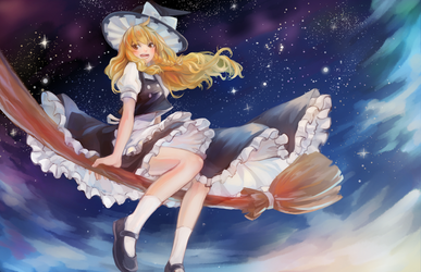 Fly Marisa Fly by milysnow
