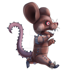 Requested: Monster rat by Takarti