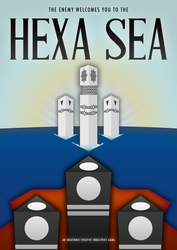 Welcome to Hexa Sea - Version B by ideatomik