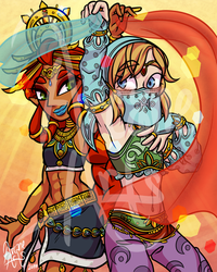 Desert Cuties by TheArcaneArts