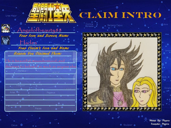 Saint Seiya Claim by AngelOfBeauty88