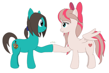 Angel Wings brohoof (Gift) by SteelPH