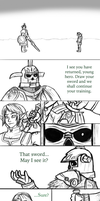 Preview of a new Zelda comic I'm working on. by InkRose98