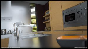Personal Kitchen 3 close up by diegoreales