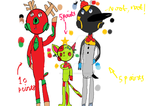 Christmas adopts! (CLOSED) by Galaxy-dr0p