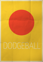Dodgeball Movie Poster by jxtutorials