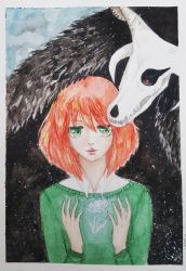 the ancient magus bride ~ chise and elias(video) by InfernalSnow