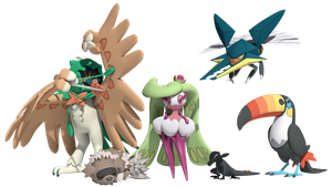 DeadlyNightShade7753's Pokemon Moon team