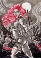 red sonja revisited by chachaman