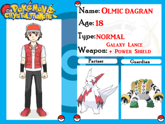 Crystal Trainers App - Olmic Dagran by SnewpSketches