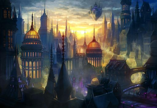 Magic City of Vane by Alayna