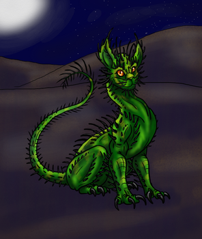 HWE Cactus Cat by Scatha-the-Worm