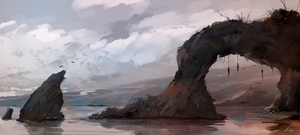 No Mans Land - Spitpaint by AaronGriffinArt