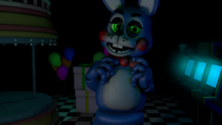 (FNAF) Toy Bonnie by LilyC4Dpn