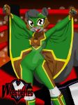 Wrestlettes - Acorn the 'Flying Squirrel' by PlayboyVampire