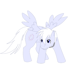Pony Shadow for collab by GhostLiger