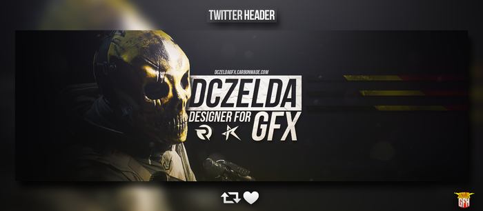 banner for my own twitter (@dczelda_gfx) by dczelda