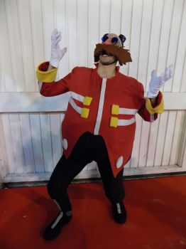 Dr Eggman cosplay - Get a load of this! by ViluVector