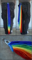 MLP Rainbow Dash Tails by RebelATS