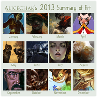 Summary of Art 2013 by Alicechan