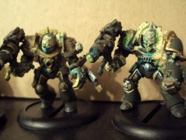 Nurgle Obliterators 2 by Halcenion