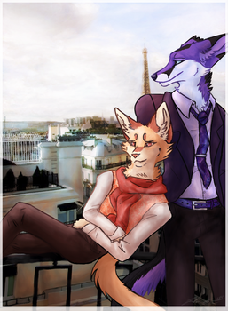 Balcony by PeachesOfWar