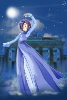 under the moon +gardevoir+ by robins-egg-crayon