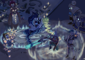 A night with my team - League of Legends by DaaavidLL