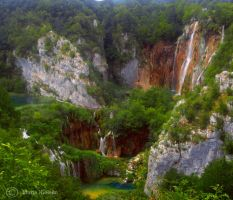 National Park Plitvice by Moonbird9