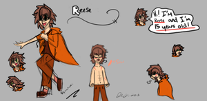 Reese's //Shitty outdated// reference by Samagirl