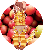 AESTHETIC ADOPT REVEAL: end of autumn rat by irlnya