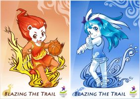 YOG 2010 - Blazing The Trail by StrayShadow