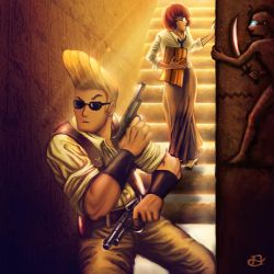 Curse of the Mummy's Tomb by mistermadigan