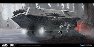 ILM - The Ride - Imperial AT-TC by ApneicMonkey
