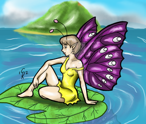 Butterfly Fairy by The-One-Free-Man82