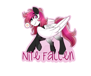 Badge Commission - Nyte by Twisted-Sketch