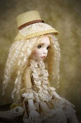 Runa Portrait with worm by miradolls