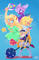 Starsplosion! ( vs. the forces of evil ) by TwitchyKismet