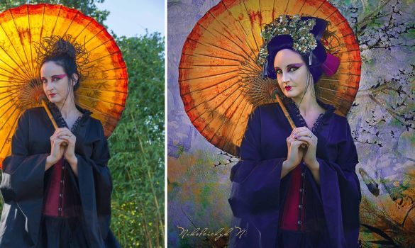A Lady with a Parasol/BA by ChanelAllure