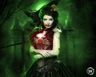 Esmeralda-zombie queen by GRAPHICSOUL