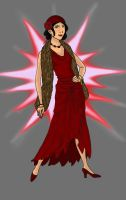 Azula in the 1920's by Golden-Flute