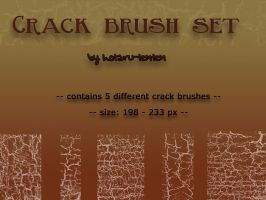 Grungy crack brushes by hotaru-tenten