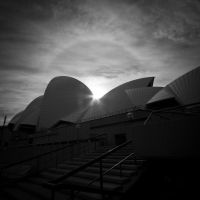 Late Afternoon at Sydney Opera House by froggynaan