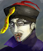 I am a chinese hopping vampire by HenryBiscuitfist