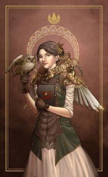 Steampunk Archangel by feng-gao-long