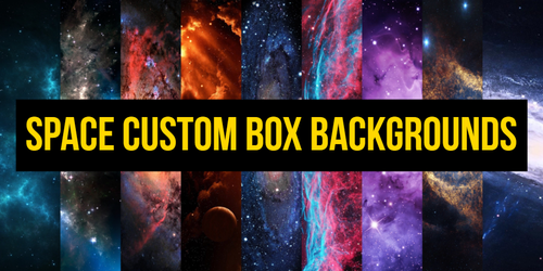 |Space custom box background pack| FREE by Rykhers
