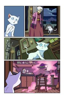 Hero Cats #13 page 4 COLOR by s-iRON