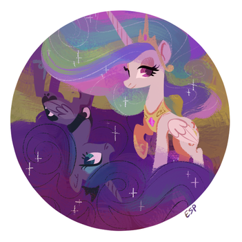 Day and Night by spacekitsch