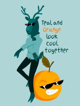 Teal and Orange look cool together by Nyarlotep